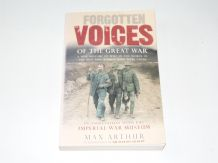 Forgotten Voices Of The Great War (Arthur 2002)